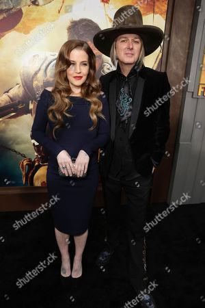 "Lisa Marie Presley and Michael Lockwood seen at the Warner Bros. premiere of ""Mad Max: Fury Road"", in Los Angeles"