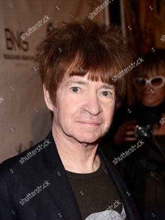 """DJ Rodney Bingenheimer arrives on the red carpet at the West Coast special screening of """"CBGB"""" at the ArcLight Hollywood on in Los Angeles"""