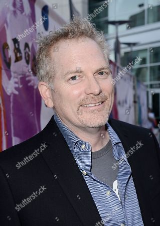 "Director Randall Miller arrives on the red carpet at the West Coast special screening of ""CBGB"" at the ArcLight Hollywood on in Los Angeles"