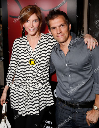 Melinda McGraw and husband Steve Pierson attend the WIGS One Year Anniversary Party on in Culver City, CA