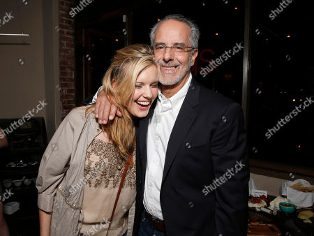 Maggie Grace, left, and WIGS co-creator Jon Avnet attend the WIGS One Year Anniversary Party on in Culver City, CA