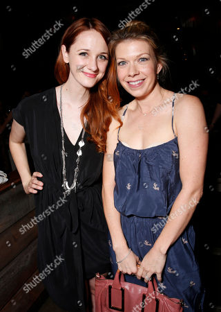 Laura Spencer and Mary Elizabeth Ellis attend the WIGS One Year Anniversary Party on in Culver City, CA