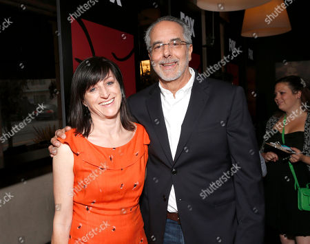Ami Canaan Mann and WIGS co-creator Jon Avnet attend the WIGS One Year Anniversary Party on in Culver City, CA