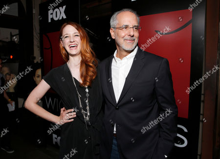 Laura Spencer and WIGS co-creator Jon Avnet attend the WIGS One Year Anniversary Party on in Culver City, CA