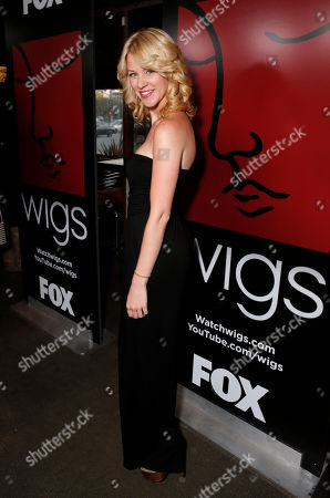 Kim Shaw attends the WIGS One Year Anniversary Party on in Culver City, CA