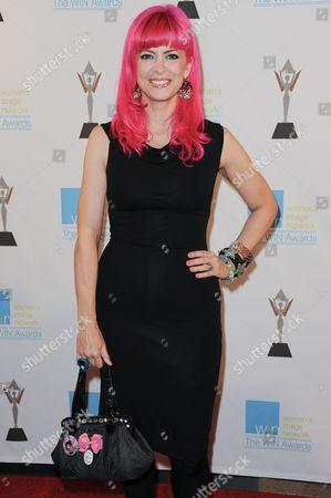 Tarina Tarantino attends the 14th Annual Women's Image Network Awards at Paramount Studios, in Los Angeles