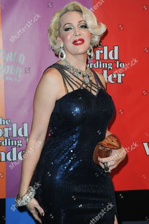 """Calpernia Addams attends the """"World of Wonder"""" book release party at Universal Studios, in Los Angeles"""