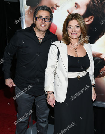 "Kathy Wakile and husband Richard Wakile attend the world premiere of ""Me Before You"" at AMC Loews Lincoln Square, in New York"
