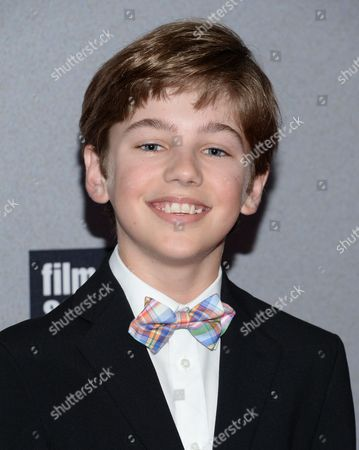 """Stock Image of Evan Brinkman attends the world premiere of """"Trainwreck"""" at Alice Tully Hall, in New York"""