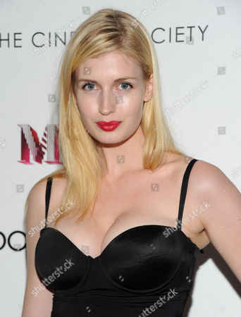 """Stock Image of Camilla Hansen attends the world premiere of """"Madonna: The MDNA Tour"""" hosted by The Cinema Society and Dolce & Gabbana at the Paris Theatre on in New York"""