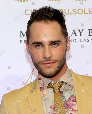 """Singer Josh Strickland arrives at the world premiere of """"Michael Jackson ONE"""" at THEhotel at Mandalay Bay Resort and Casino on in Las Vegas"""