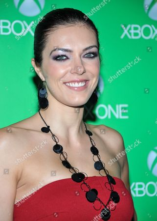 Adrianne Curry arrives at Xbox One Official Launch Celebration at Milk Studios, on Thursday, November, 21, 2013 in Los Angeles