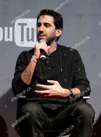 Fullscreen CEO George Strompolos is seen at THR Talks panel presented by The Hollywood Reporter and YouTube at Park City Live, in Park City, Utah