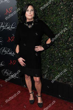 "I. Marlene King attends the ""Pretty Little Liars"" Photo Op at Siren Studios, in Los Angeles"