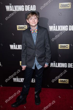 """Stock Picture of Major Dodson attends AMC's """"The Walking Dead"""" season six premiere fan event at Madison Square Garden, in New York"""