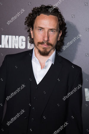 """Michael Traynor attends AMC's """"The Walking Dead"""" season six premiere fan event at Madison Square Garden, in New York"""