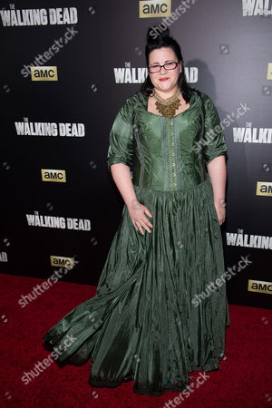 "Editorial image of ""The Walking Dead"" Season 6 Fan Premiere Event, New York, USA"
