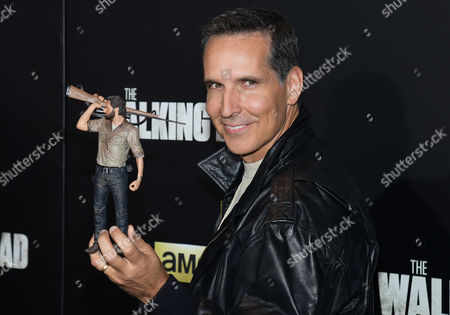 "Todd McFarlane attends AMC's ""The Walking Dead"" season six premiere fan event at Madison Square Garden, in New York"
