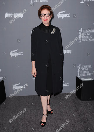 Judianna Makovsky arrives at the 15th Annual Costume Designers Guild Awards at The Beverly Hilton Hotel on in Beverly Hills