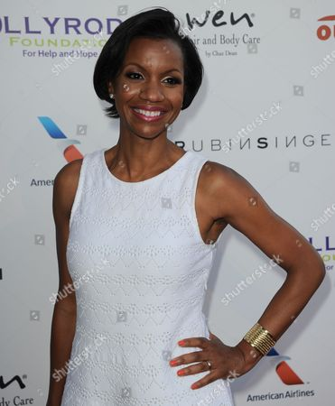 Stock Photo of Salaam Coleman Smith arrives at the 15th Annual DesignCare on in Malibu, Calif