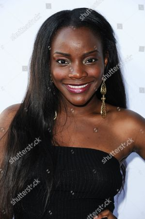 Adanna Duru arrives at the16th Annual Heroes In The Struggle Gala on in Los Angeles