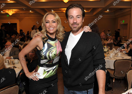 Kym Johnson and Kurt Yaeger attend the 2012 Media Access Awards on in Beverly Hills, Calif