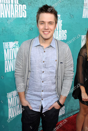 Matthew Fahey arrives at the 2012 MTV Movie Awards on in Los Angeles