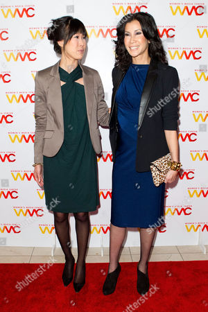 NEW YORK, NY - NOVEMBER 13: Lisa Ling and Laura Ling attend the 2012 Women's Media Awards at Guastavino's on in New York