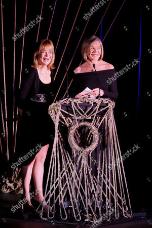Stock Picture of From left, Roxanne Hart and Susan Sullivan present during the 24th Annual LA Stage Alliance Ovation Awards held at the San Gabriel Mission Playhouse, in San Gabriel, Calif