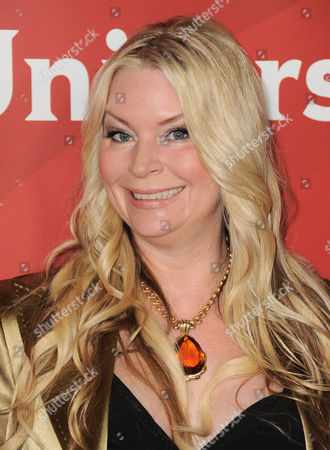 """Jackie Siegel of Bravo's """"The Queen of Versailles"""" arrives at the 2013 NBCUniversal Summer Press Day at The Langham Huntington Hotel and Spa on in Pasadena, Calif"""
