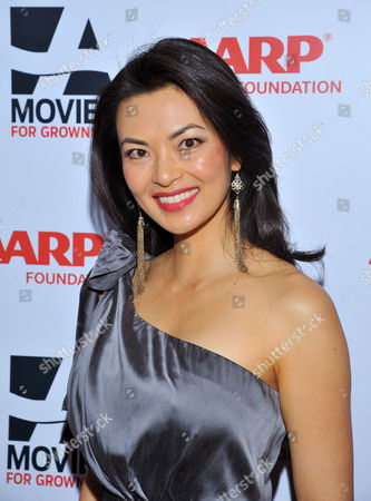 Stock Picture of Actress Jane Park Smith arrives at the 2014 AARP's Movies for Grownups Gala, on Monday, Feb. 10th, 2014 in Beverly Hills, Calif