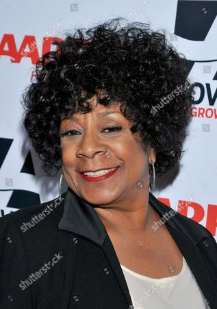 Singer Merry Clayton arrives at the 2014 AARP's Movies for Grownups Gala, on Monday, Feb. 10th, 2014 in Beverly Hills, Calif