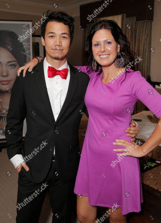 Shannon Kook and Mary Kay's Marijana Klapcic attend the 2014 Bask-It-Style Media Day, on Wednesday, September 3th, 2014 in Toronto, Canada