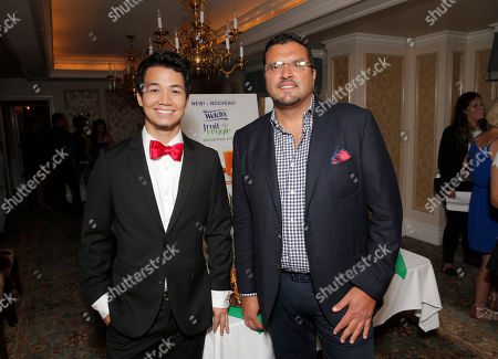 Shannon Kook and John Tentomas attend the 2014 Bask-It-Style Media Day, on Wednesday, September 3th, 2014 in Toronto, Canada