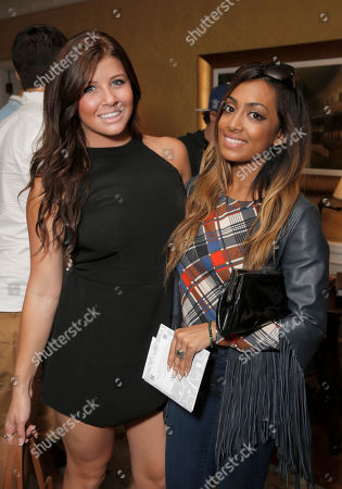 Jessica Tyler and Melinda Shankar attend the 2014 Bask-It-Style Media Day, on Wednesday, September 3th, 2014 in Toronto, Canada