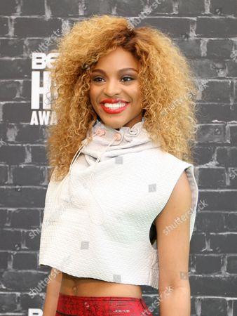 Editorial picture of 2014 BET Hip Hop Awards - Arrivals - , Atlanta, USA
