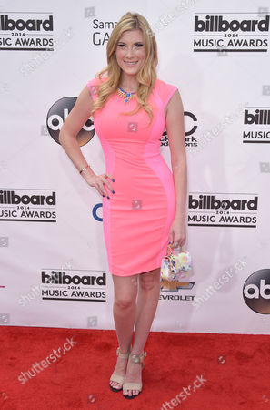 Stock Image of Elle Fowler arrives at the Billboard Music Awards at the MGM Grand Garden Arena, in Las Vegas