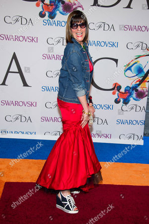 Editorial picture of 2014 CFDA Fashion Awards - Arrivals, New York, USA