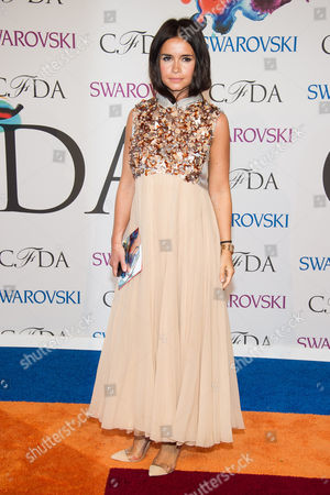 Stock Image of Mira Duma attends the CFDA Fashion Awards on in New York