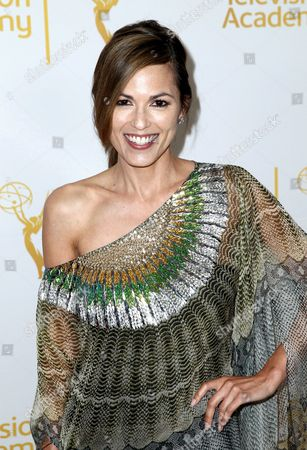 Terri Ivens arrives at the 2014 Daytime Emmy Nominee Reception presented by the Television Academy at The London West Hollywood on
