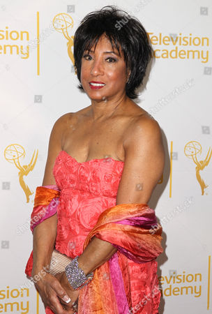 Carolyn Folks arrives at the 2014 Daytime Emmy Nominee Reception presented by the Television Academy at The London West Hollywood on