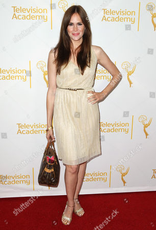Stock Picture of Natalia Livingston arrives at the 2014 Daytime Emmy Nominee Reception presented by the Television Academy at The London West Hollywood on