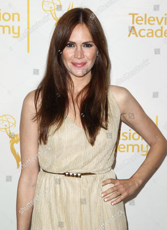 Natalia Livingston arrives at the 2014 Daytime Emmy Nominee Reception presented by the Television Academy at The London West Hollywood on