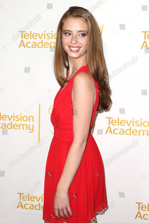Ashlyn Pearce arrives at the 2014 Daytime Emmy Nominee Reception presented by the Television Academy at The London West Hollywood on