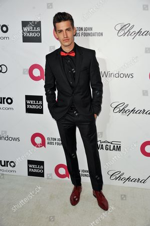 Asher Monroe arrives at 2014 Elton John Oscar Viewing and After Party in West Hollywood, Calif