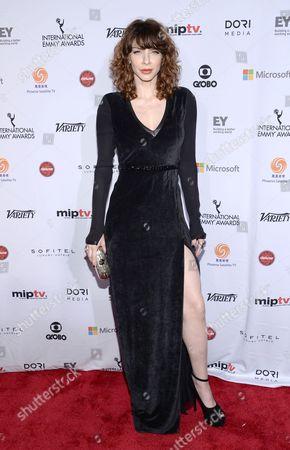 Editorial image of 2014 International Emmy Awards Gala - Arrivals, New York, USA