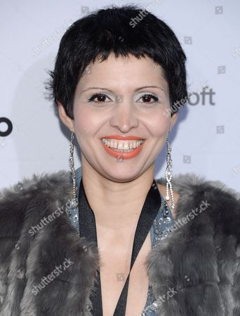 Stock Picture of Maryam Ebrahimi attends the International Emmy Awards gala at the New York Hilton, in New York