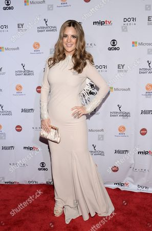 Sabrina Seara attends the International Emmy Awards gala at the New York Hilton, in New York