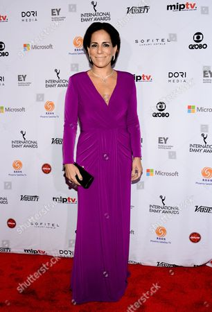 Gloria Pires attends the International Emmy Awards gala at the New York Hilton, in New York