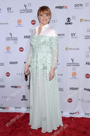 Stock Picture of Bianca Krijgsman attends the International Emmy Awards gala at the New York Hilton, in New York